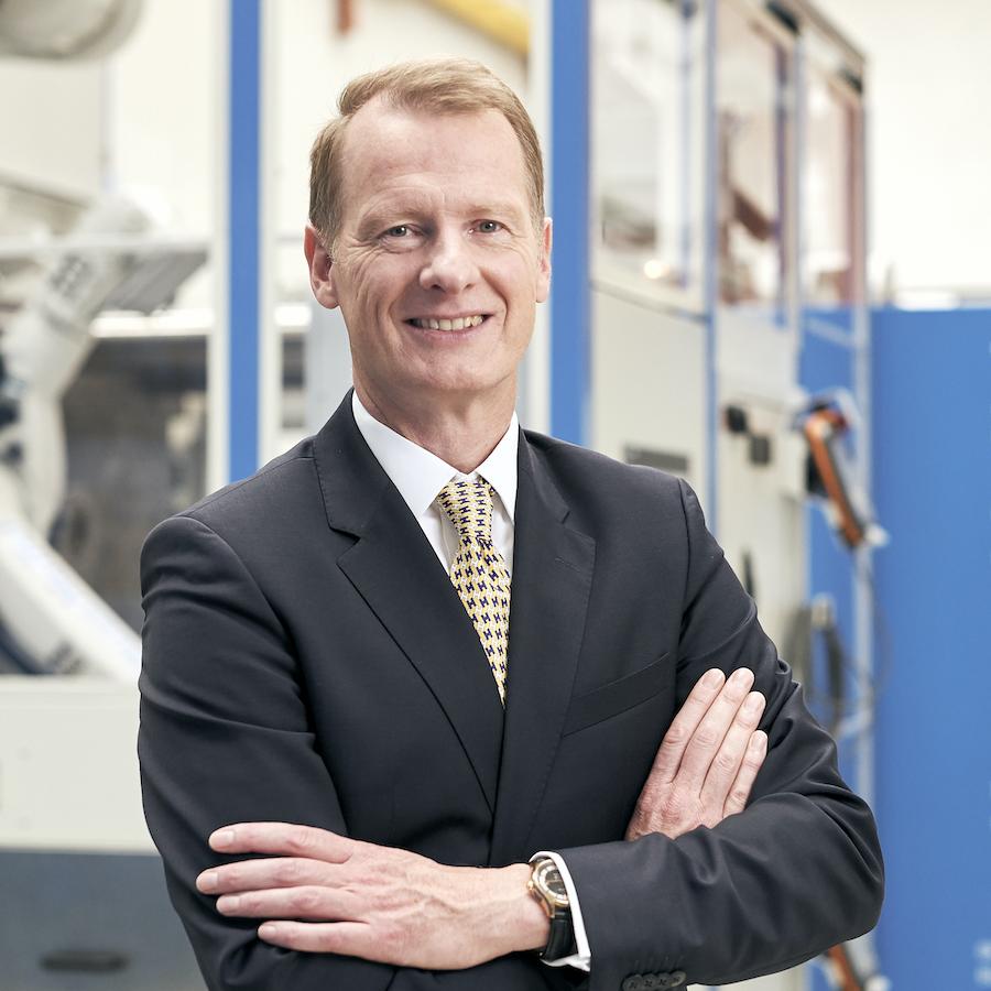 Dr. Michael Ruf, KraussMaffei