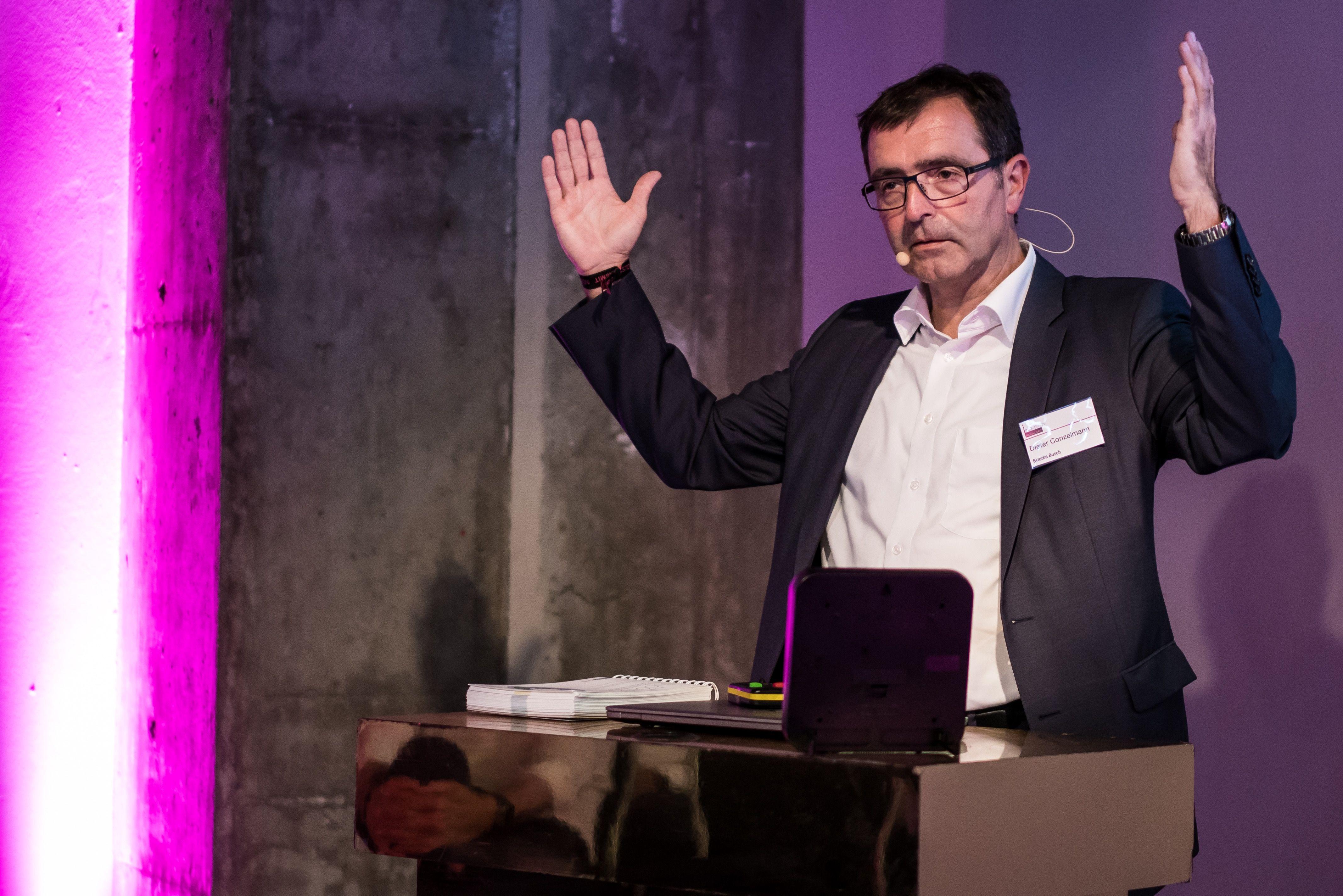 Dieter Conzelmann (Bizerba): Mit methodengestützter Geschäftsmodell-Innovation Disruption vordenken