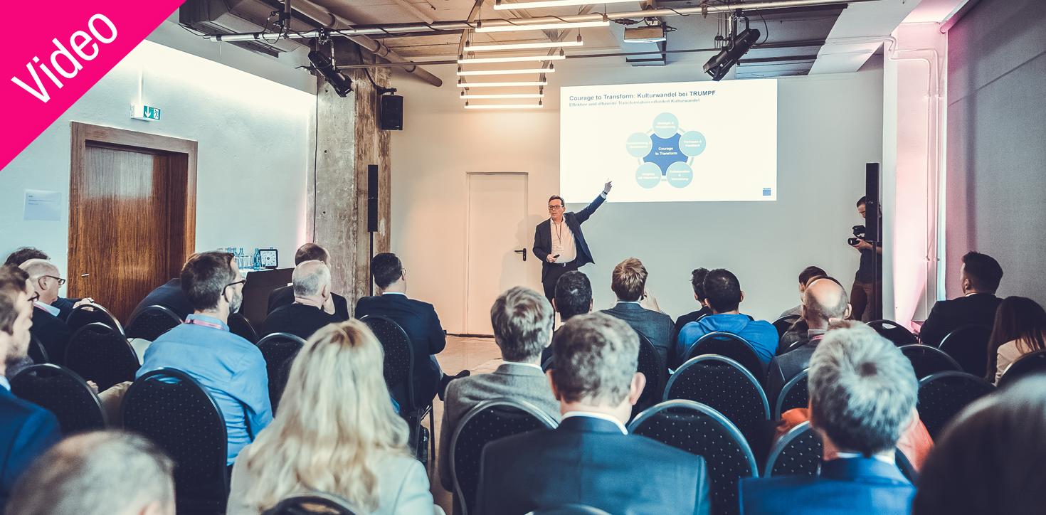 Dr. Ulrich Faisst– IFS 2019: Lead and Disrupt @ Trumpf – Wie gestaltet man zukunftsfähige Führungs- & Organisationsstrukturen?