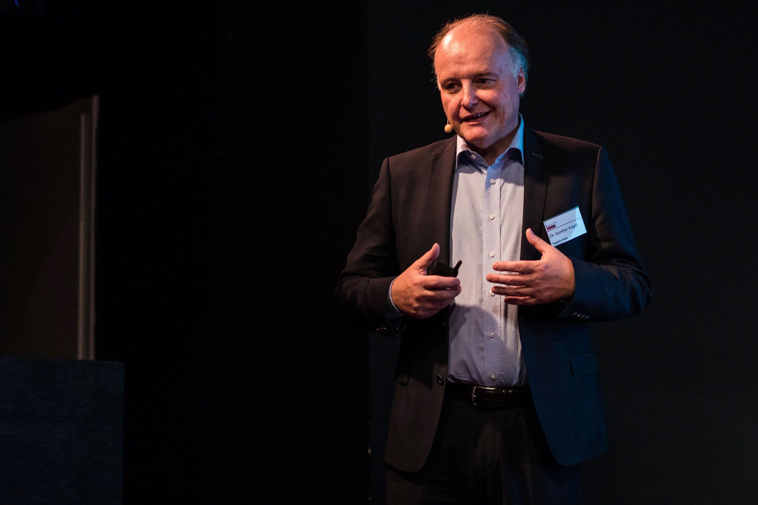 Dr. Gunther Kegel (Pepperl + Fuchs): Mehr Mut zum Technologiesprung